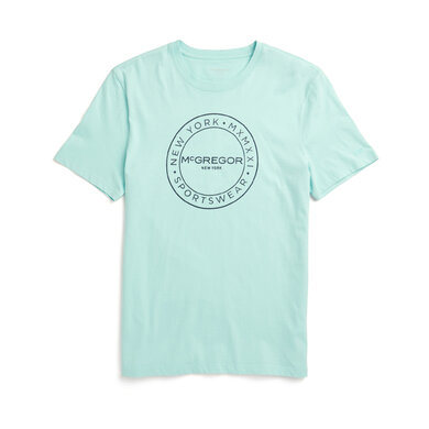 McGregor T-shirt Regular Fit met Logo Groen