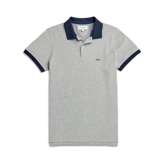 McGregor Polo Slim fit structured twill Bright Navy