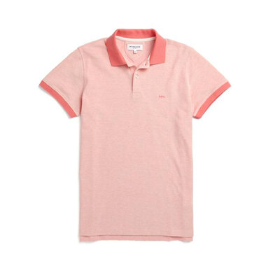 McG Slim fit polo structured twill Oranje