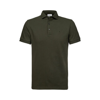 Michaelis Polo Korte Mouw Army Green