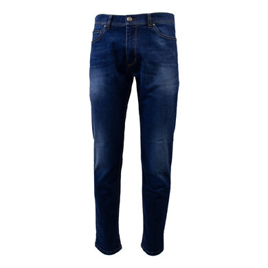 Eagle & Brown jeans in stretch biologische denim Donkerblauw