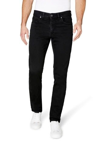 Gardeur Broek 5-pocket Modern Fit Batu-2 Black/black