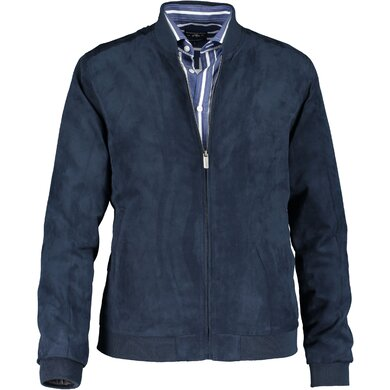 State of Art Bomber Suede look Jas marine uni
