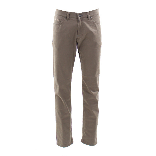 Adam 5 pocket broek Steve Khaki