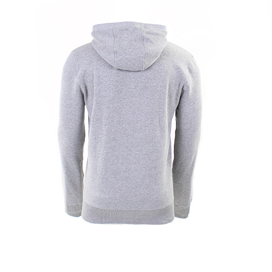 Adam est 1916 vest met opdruk Light grey melange