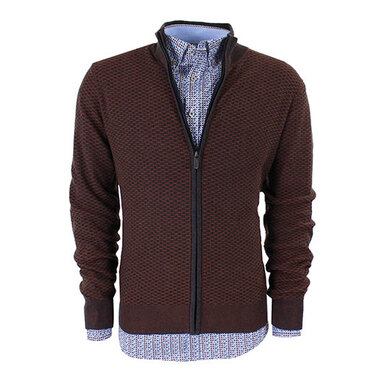 State of Art vest Brown