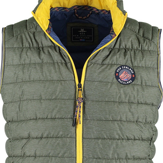 New Zealand Auckland Bodywarmer Vanda  Field green