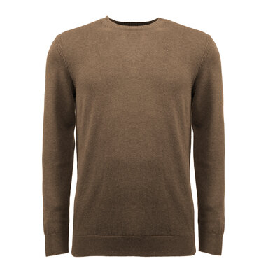 Eagle & Brown Trui Ronde Hals Organic Cotton Bruin Bruin