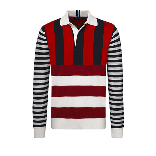 Tommy Hilfiger Polo Long Sleeve White