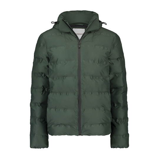 padded Puffer winter jacket Cypress Green