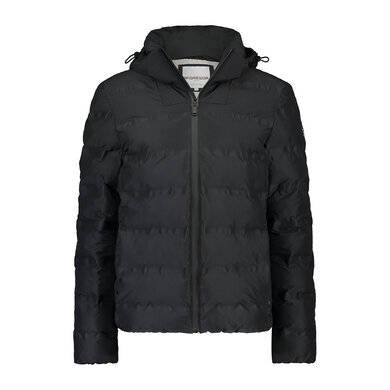 padded Puffer winter jacket Black