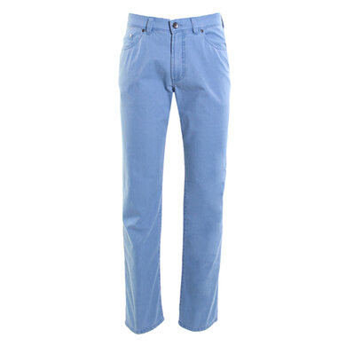Gardeur 5-pocket broek Bill-2 Mittelblau