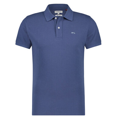 McGregor polo piqué Blue Indigo
