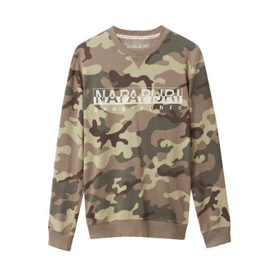 Napapijri sweater print Dark green