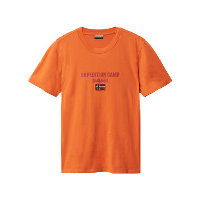 Napapijri t-shirt uni logo Orange