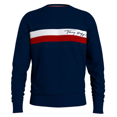 Tommy Hilfiger sweater wcc pique panel Navy