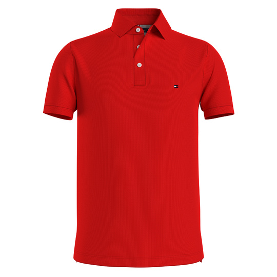 Tommy Hilfiger polo 1985 Rood