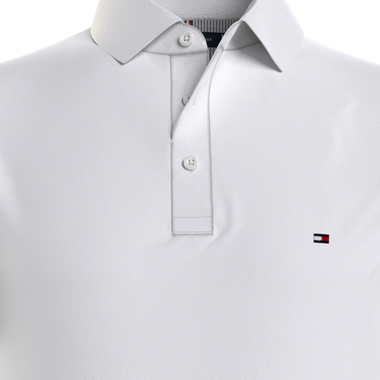 Tommy Hilfiger polo 1985 Wit