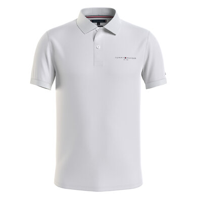 Tommy Hilfiger polo clean jersey Wit