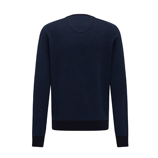 Fynch Hatton V-neck pullover Lagoon