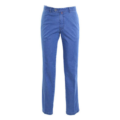 Eagle & Brown denim chino Blue