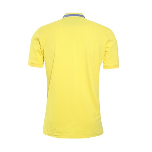 Eagle & Brown polo opstaande kraag Yellow
