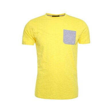 Eagle & Brown t-shirt uni Yellow