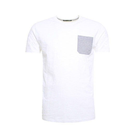 Eagle & Brown t-shirt uni White