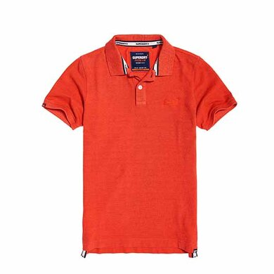 Superdry Polo Vintage Orange