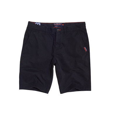Superdry Short Slim Chino Black