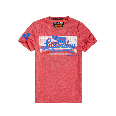 Superdry Shirt Icarus Red