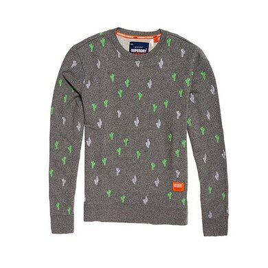 Superdry Sweater Crew Grey