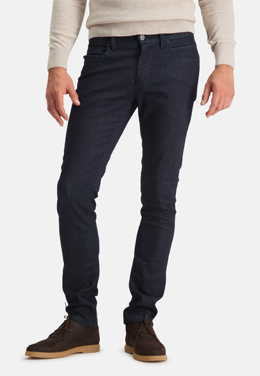 State of Art Broek 5-pocket Denim Modern Fit Solitude donkerblauw uni