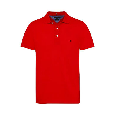 Tommy Hilfiger Polo slim Red