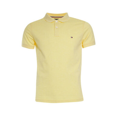 Tommy Hilfiger Polo slim Yellow