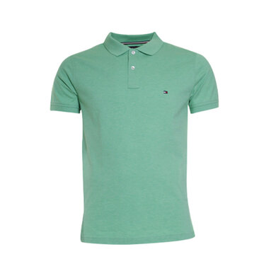 Tommy Hilfiger Polo slim Green