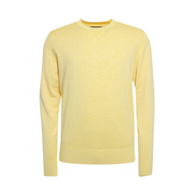Tommy Hilfiger trui ronde hals  Yellow