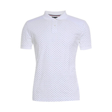 Tommy Hilfiger polo met stippen White