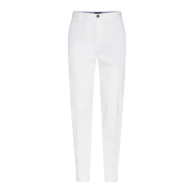 Tommy Hilfiger Tailored Broek stretch slim White