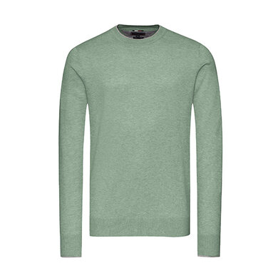 Tommy Hilfiger Tailored Trui ronde hals Green
