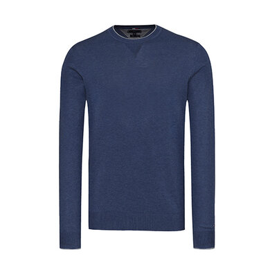 Tommy Hilfiger Tailored Trui ronde hals Navy