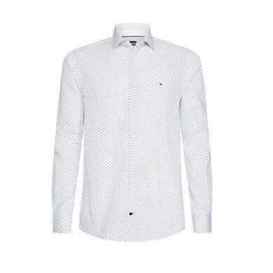 Tommy Hilfiger Tailored Overhemd print White