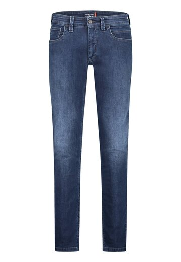 State of Art stretch jeans kobalt uni