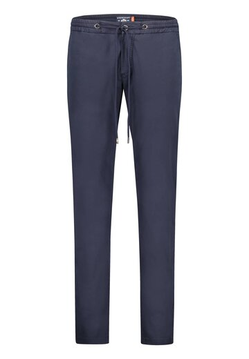 State of Art chino beachstyle donkerblauw uni