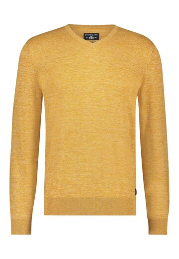 State of Art pullover mouliné mango/beige