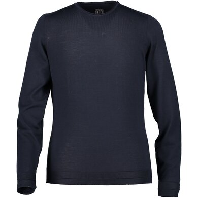 State of Art pullover  donkerblauw uni