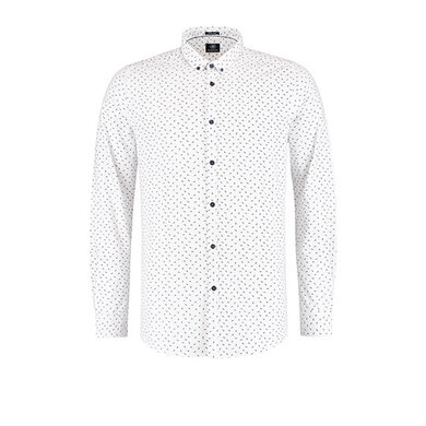 Dstrezzed button-down Overhemd met print White